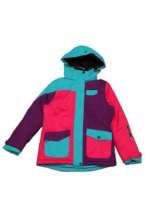 Сноубордическая куртка NORAH Five seasons. Цвет: розовый
