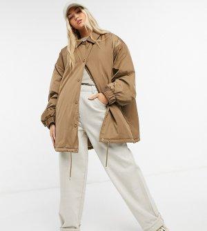Светло-коричнева спортивная куртка в стиле oversized COLLUSION-Бежевый Collusion