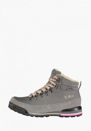 Ботинки CMP HEKA WMN WP. Цвет: серый