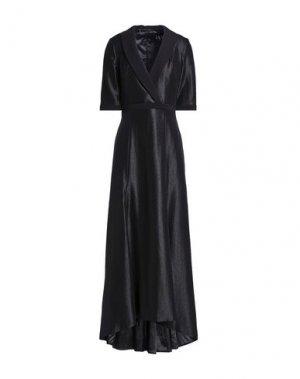 Длинное платье BLACK HALO EVE by LAUREL BERMAN. Цвет: черный