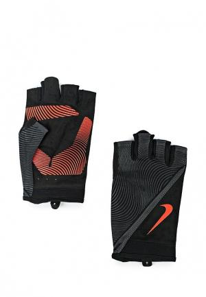Перчатки для фитнеса Nike MENS HAVOC TRAINING GLOVES. Цвет: черный