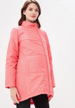 Куртка утепленная Очаровательная Адель. Цвет: розовый