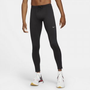 Тайтсы мужские Dri-FIT Challenger, размер 46-48 Nike. Цвет: черный