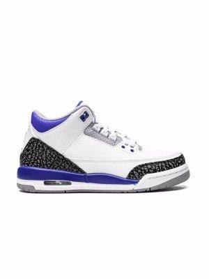 Кроссовки Air Jordan 3 OG Kids. Цвет: белый