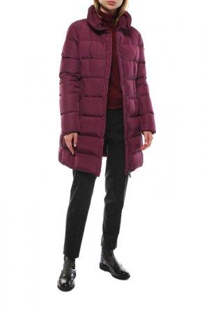 Пальто ADD. Цвет: фиолетовый