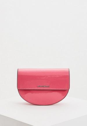 Сумка поясная Coccinelle DANNY. Цвет: розовый