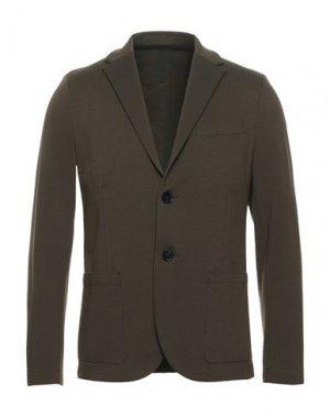 Пиджак HARRIS WHARF LONDON. Цвет: зеленый-милитари