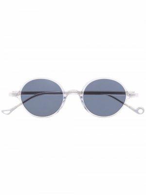 Солнцезащитные очки Claire в круглой оправе Eyepetizer. Цвет: белый