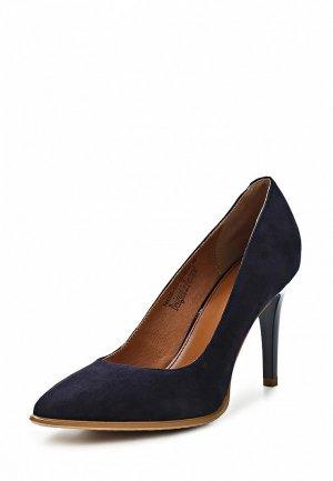Туфли Clotilde SI293AWCQJ98. Цвет: синий