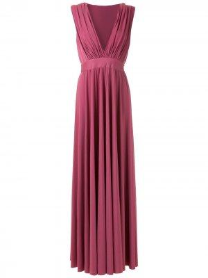 Вечернее платье Melissa Olympiah. Цвет: фиолетовый