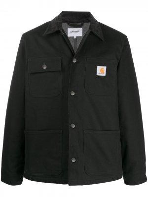Куртка-рубашка с длинными рукавами Carhartt WIP. Цвет: черный