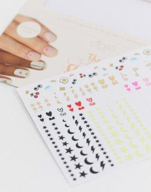 Наклейки для ногтей London Cheat Sheets Ciaté