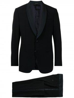 Вечерний костюм-двойка Giorgio Armani. Цвет: синий