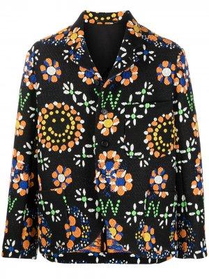 Пиджак свободного кроя Walter Van Beirendonck Pre-Owned. Цвет: черный