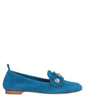 Мокасины ANNA F.. Цвет: ярко-синий