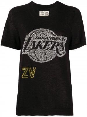 Пуловер Lakers ZADIG&VOLTAIRE x NBA. Цвет: черный
