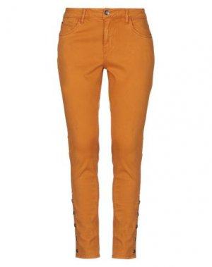 Повседневные брюки GARCIA. Цвет: верблюжий