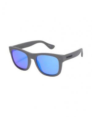 Солнечные очки HAVAIANAS. Цвет: серый