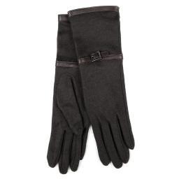 Перчатки SOFIA/C100 темно-серый AGNELLE