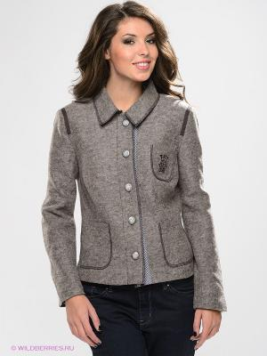 Пиджак Best Connections. Цвет: серо-коричневый
