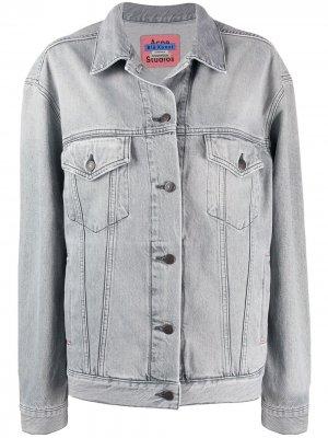 Джинсовая куртка 2000-х годов Acne Studios. Цвет: серый