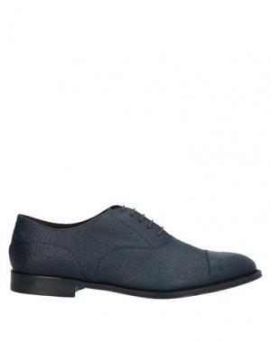 Обувь на шнурках CASTORI. Цвет: темно-синий