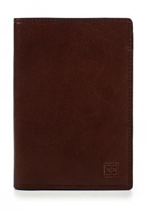 Обложка для паспорта Sergio Belotti SE003DMAHIM8. Цвет: коричневый