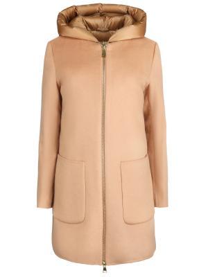 Пальто с пуховой подстежкой HETREGO