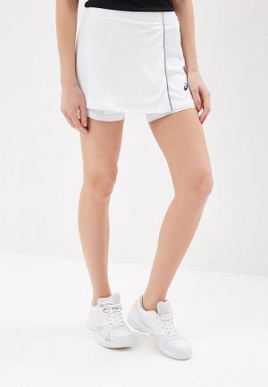 Юбка-шорты ASICS SKORT. Цвет: белый
