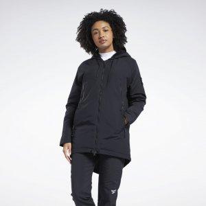 Парка Outerwear Urban Fleece Reebok. Цвет: black