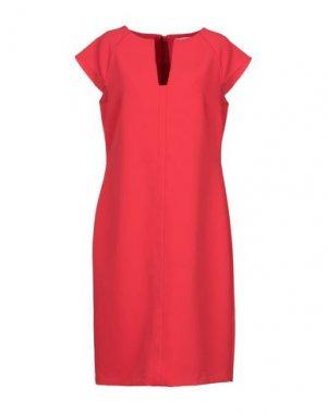 Короткое платье COCCAPANI TREND. Цвет: красный