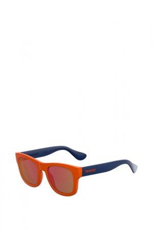 Солнцезащитные очки Havaianas. Цвет: оранжевый