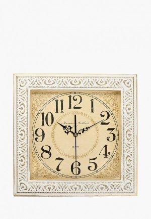 Часы настенные Михайлъ Москвинъ. Цвет: белый