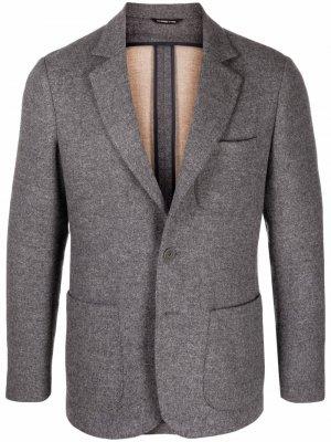 Пиджак с длинными рукавами Tonello. Цвет: серый