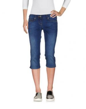 Джинсовые брюки-капри EAN 13. Цвет: синий
