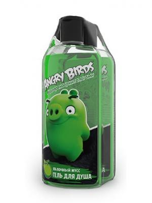 Гель для душа Свежесть дня серии Angry Birds 2шт*250мл. Цвет: светло-зеленый