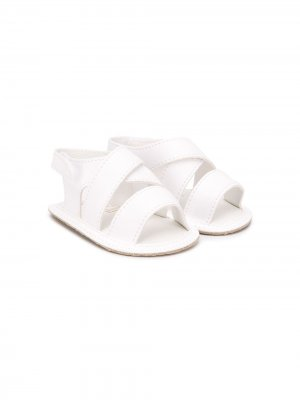 Сандалии с открытым носком Aletta. Цвет: белый