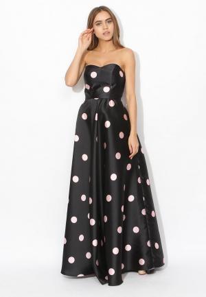 Платье Tutto Bene TU009EWLE033. Цвет: черный