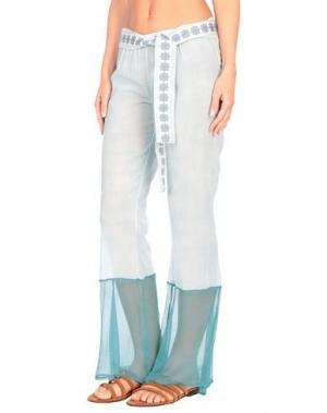 Пляжные брюки и шорты AMORISSIMO. Цвет: небесно-голубой