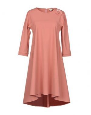 Короткое платье BEATRICE B. Цвет: пастельно-розовый