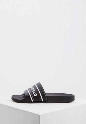 Сандалии Karl Lagerfeld. Цвет: черный
