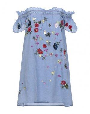 Короткое платье JOIE. Цвет: пастельно-синий