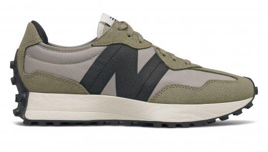 Кроссовки 351 New Balance. Цвет: зеленый