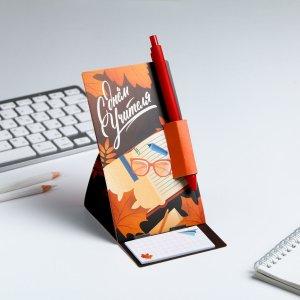 Ручка на открытке с бумажным блоком ArtFox