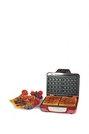Вафельница 187 Waffle Ariete. Цвет: красный