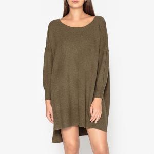 Платье-пуловер DAMSVILLE AMERICAN VINTAGE. Цвет: хаки