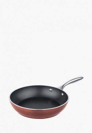 Сковорода Rondell Jersey 24 см. Цвет: коричневый