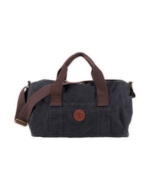 Дорожная сумка TIMBERLAND. Цвет: стальной серый