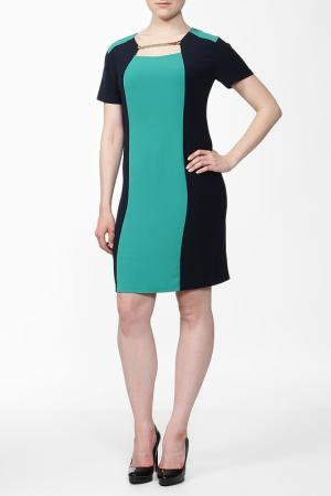 Платье BIRATTI. Цвет: темно-синий, бирюзовый