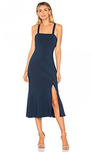 Платье tribute Finders Keepers. Цвет: синий